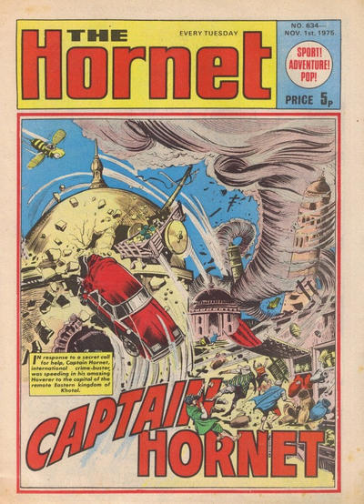 Cover for The Hornet (D.C. Thomson, 1963 series) #634