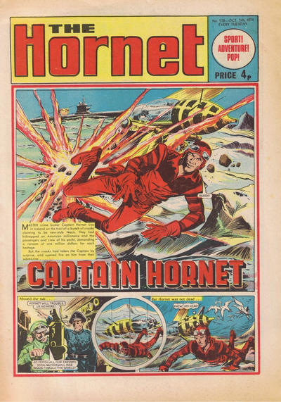 Cover for The Hornet (D.C. Thomson, 1963 series) #578