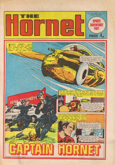 Cover for The Hornet (D.C. Thomson, 1963 series) #574