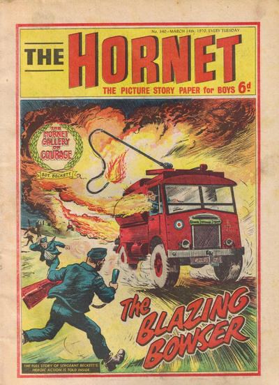 Cover for The Hornet (D.C. Thomson, 1963 series) #340