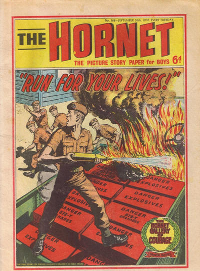 Cover for The Hornet (D.C. Thomson, 1963 series) #368