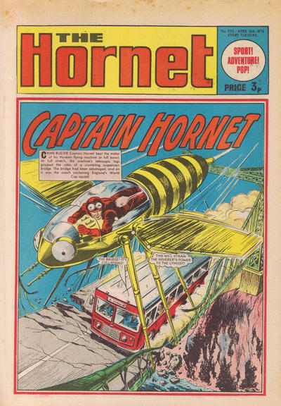 Cover for The Hornet (D.C. Thomson, 1963 series) #553