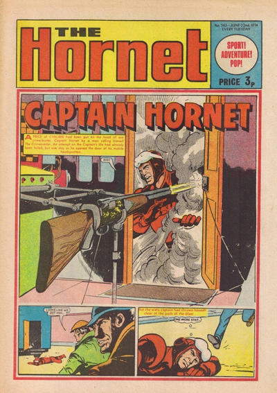 Cover for The Hornet (D.C. Thomson, 1963 series) #563