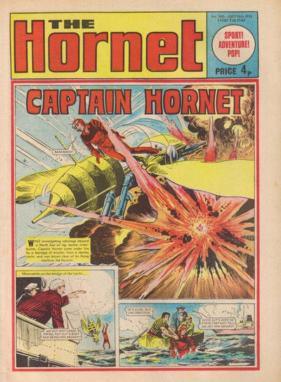 Cover for The Hornet (D.C. Thomson, 1963 series) #566