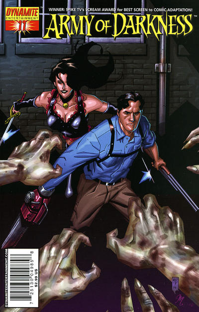 Cover for Army of Darkness (Dynamite Entertainment, 2005 series) #11 [Cover A]