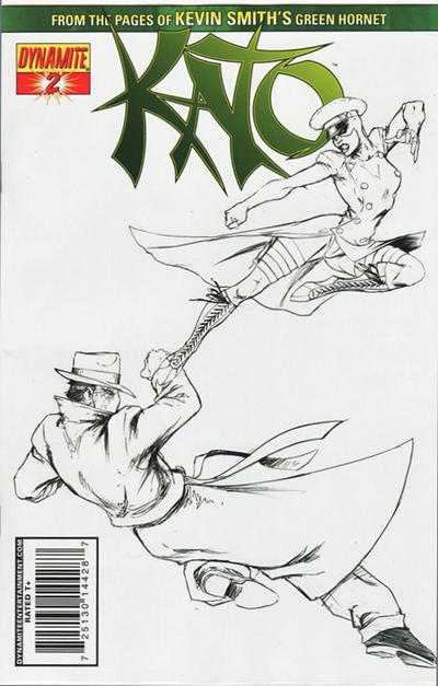 Cover for Kato (Dynamite Entertainment, 2010 series) #2 [Desjardins]