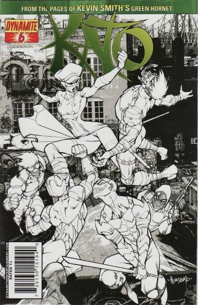 Cover for Kato (Dynamite Entertainment, 2010 series) #6 [Carlos Rafael Cover]