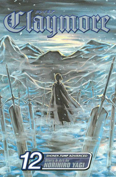 Cover for Claymore (Viz, 2006 series) #12