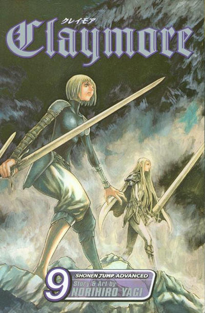 Cover for Claymore (Viz, 2006 series) #9