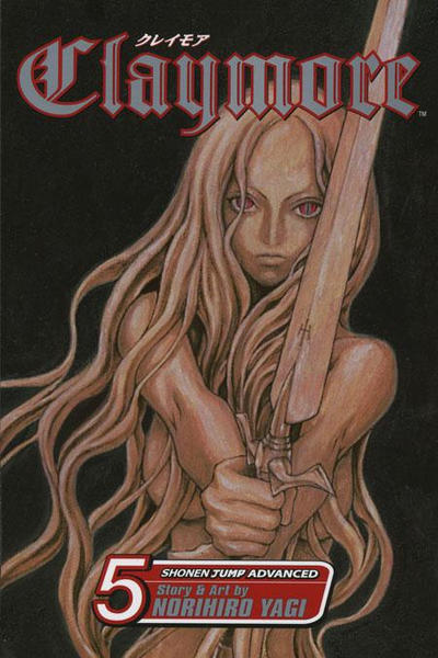 Cover for Claymore (Viz, 2006 series) #5