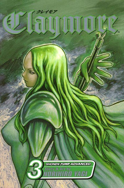 Cover for Claymore (Viz, 2006 series) #3
