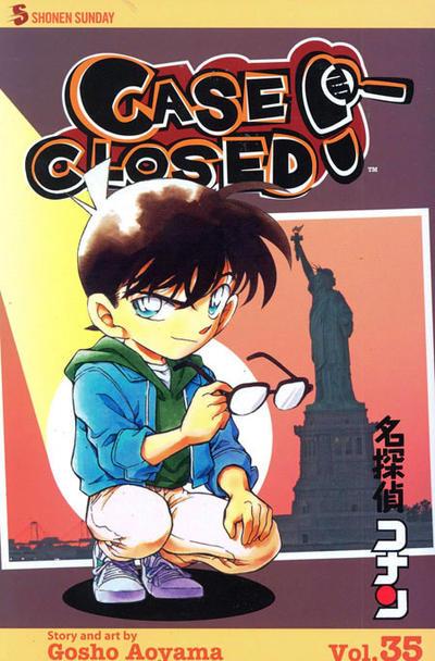 Cover for Case Closed (Viz, 2004 series) #35