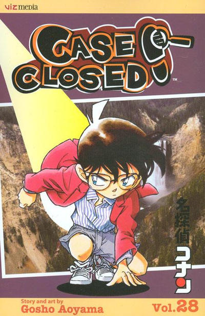 Cover for Case Closed (Viz, 2004 series) #28