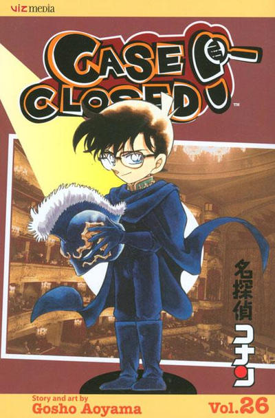 Cover for Case Closed (Viz, 2004 series) #26