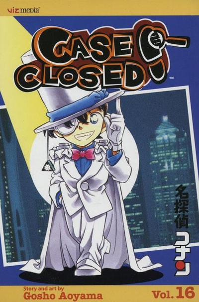 Cover for Case Closed (Viz, 2004 series) #16