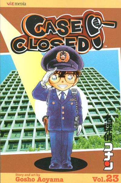Cover for Case Closed (Viz, 2004 series) #23