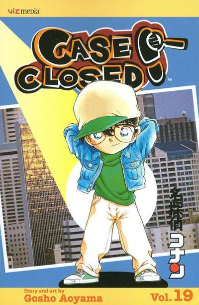 Cover for Case Closed (Viz, 2004 series) #19