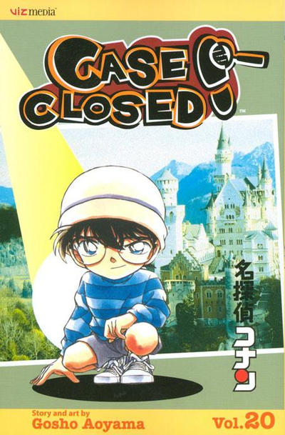 Cover for Case Closed (Viz, 2004 series) #20