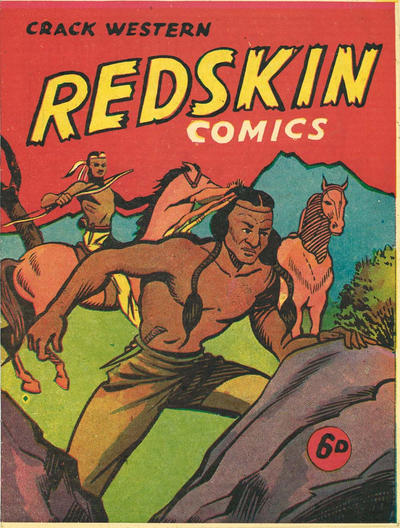 Cover for Crack Western Redskin Comics (Ayers & James, 1950 ? series) #[nn]