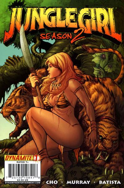 Cover for Jungle Girl Season 2 (Dynamite Entertainment, 2008 series) #1 [Wizardworld Texas]