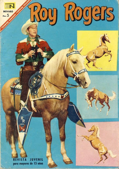 Cover for Roy Rogers (Editorial Novaro, 1952 series) #173