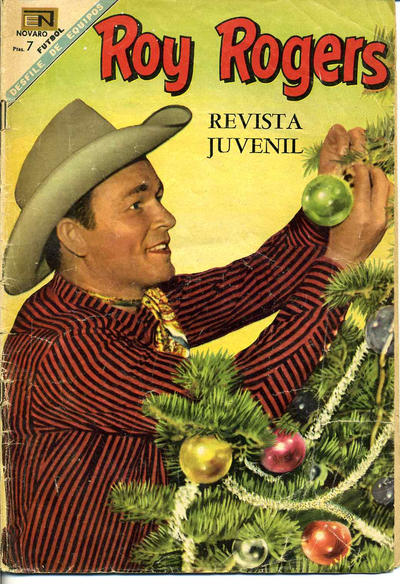 Cover for Roy Rogers (Editorial Novaro, 1952 series) #196
