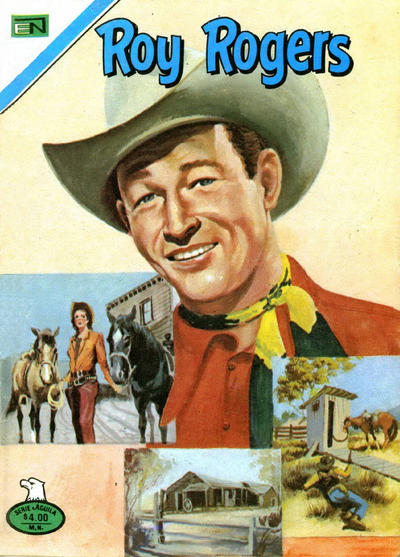 Cover for Roy Rogers (Editorial Novaro, 1952 series) #393