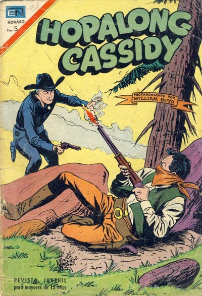 Cover for Hopalong Cassidy (Editorial Novaro, 1952 series) #154