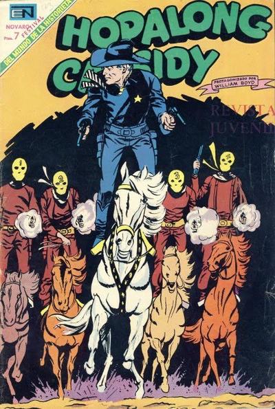 Cover for Hopalong Cassidy (Editorial Novaro, 1952 series) #173