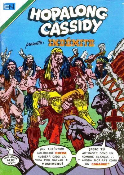Cover for Hopalong Cassidy (Editorial Novaro, 1952 series) #290