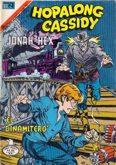 Cover for Hopalong Cassidy (Editorial Novaro, 1952 series) #310