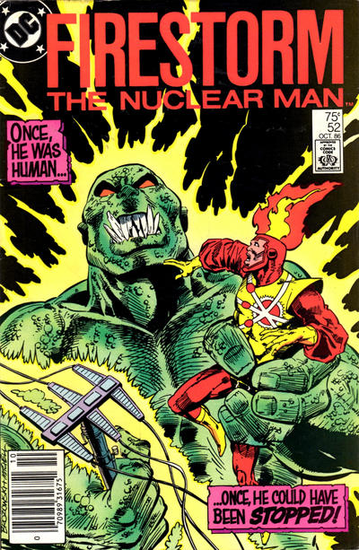 Cover for The Fury of Firestorm (DC, 1982 series) #52 [Direct Sales]