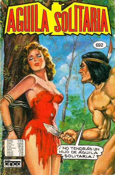 Cover for Aguila Solitaria (Editora Cinco, 1976 ? series) #692