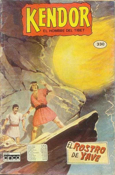 Cover for Kendor (Editora Cinco, 1982 series) #330