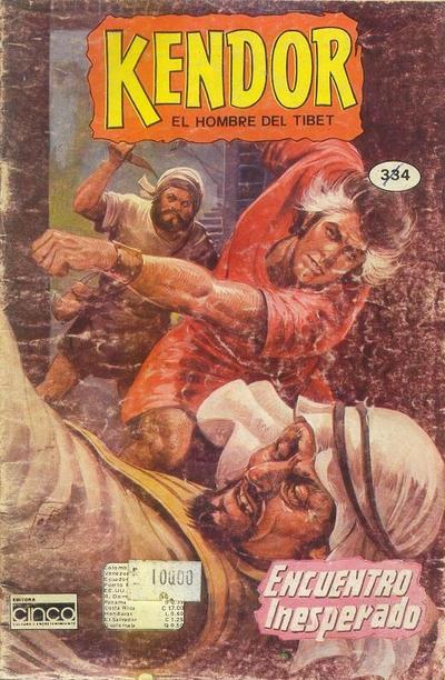 Cover for Kendor (Editora Cinco, 1982 series) #334