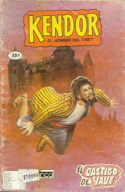 Cover for Kendor (Editora Cinco, 1982 series) #331