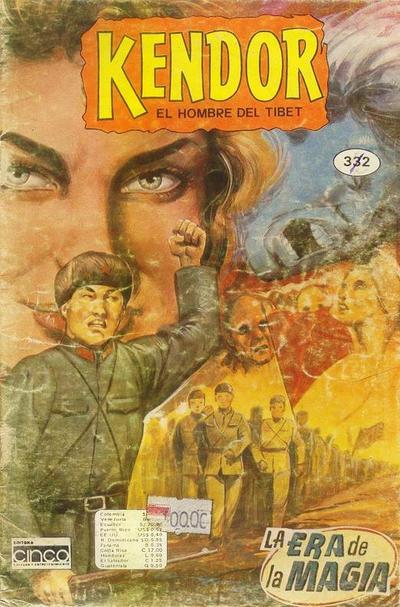 Cover for Kendor (Editora Cinco, 1982 series) #332
