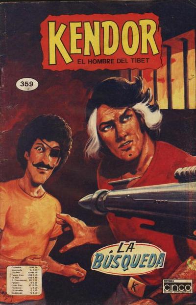 Cover for Kendor (Editora Cinco, 1982 series) #359