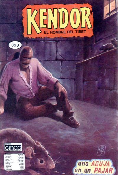 Cover for Kendor (Editora Cinco, 1982 series) #393