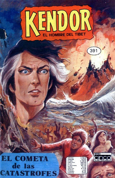 Cover for Kendor (Editora Cinco, 1982 series) #391