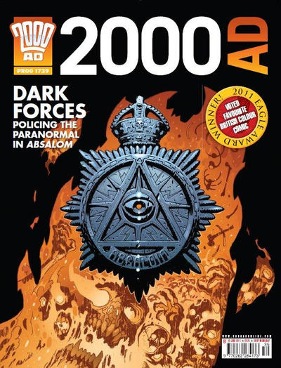 Cover for 2000 AD (Rebellion, 2001 series) #1739