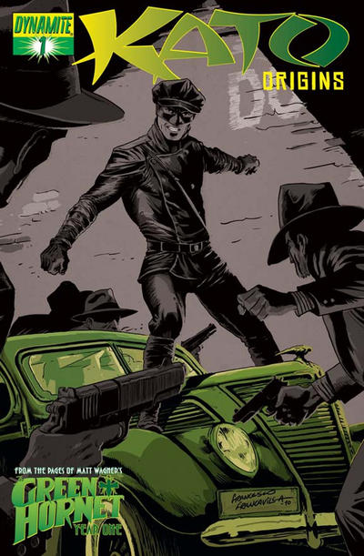Cover for Kato Origins (Dynamite Entertainment, 2010 series) #1 [Francavilla]