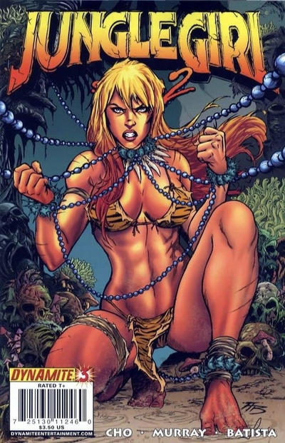 Cover for Jungle Girl Season 2 (Dynamite Entertainment, 2008 series) #3 [Batista]