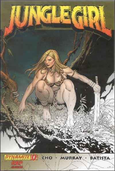Cover for Jungle Girl (Dynamite Entertainment, 2007 series) #0