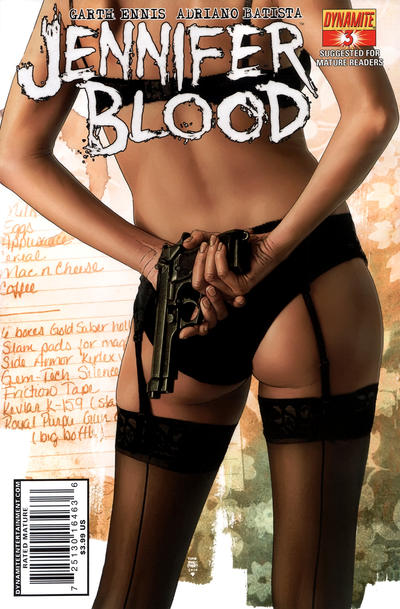 Cover for Jennifer Blood (Dynamite Entertainment, 2011 series) #3 [Cover D]