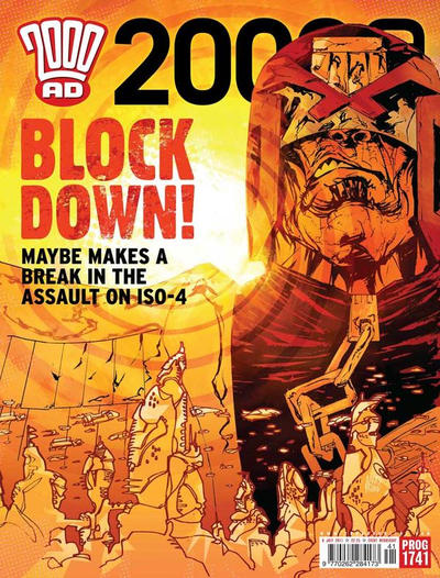Cover for 2000 AD (Rebellion, 2001 series) #1741