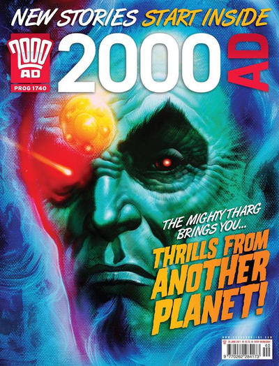 Cover for 2000 AD (Rebellion, 2001 series) #1740