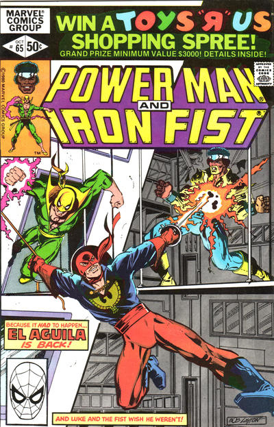 Cover for Power Man (Marvel, 1974 series) #65 [newsstand]
