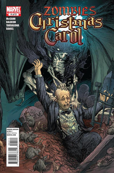Cover for Marvel Zombies Christmas Carol (Marvel, 2011 series) #4