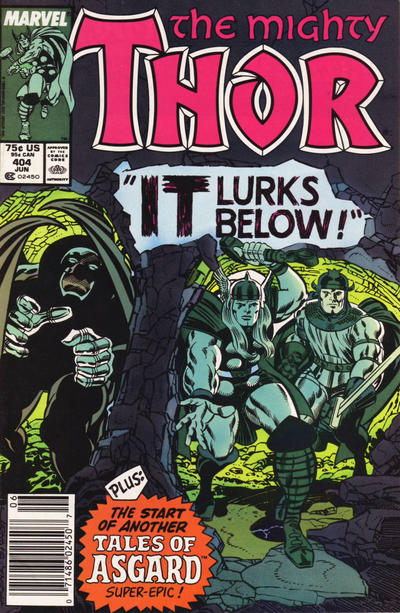 Cover for Thor (Marvel, 1966 series) #404 [Direct]